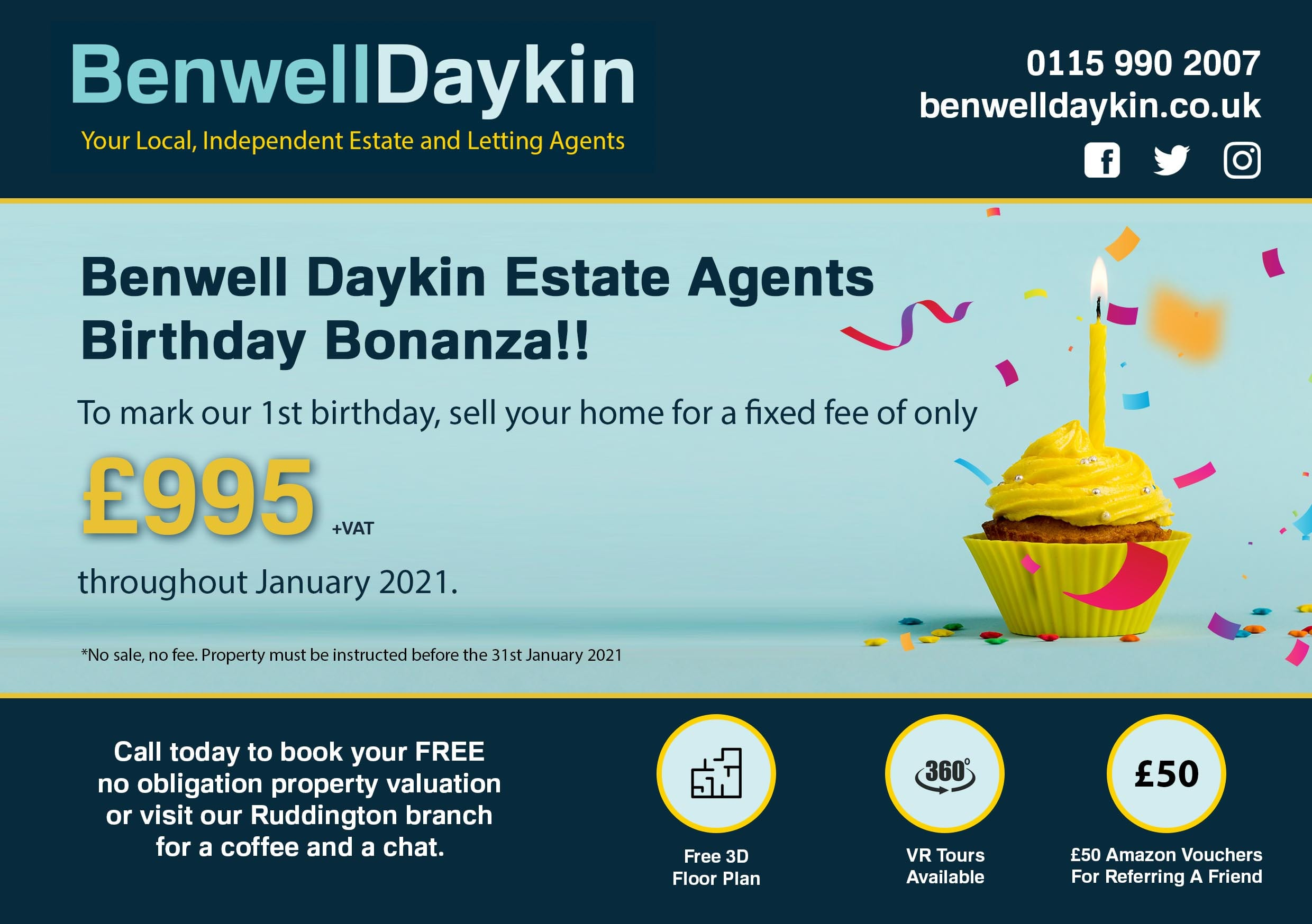 estate agent offer